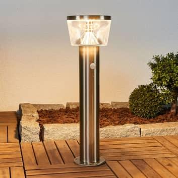 Lampioncino LED solare Antje con sensore