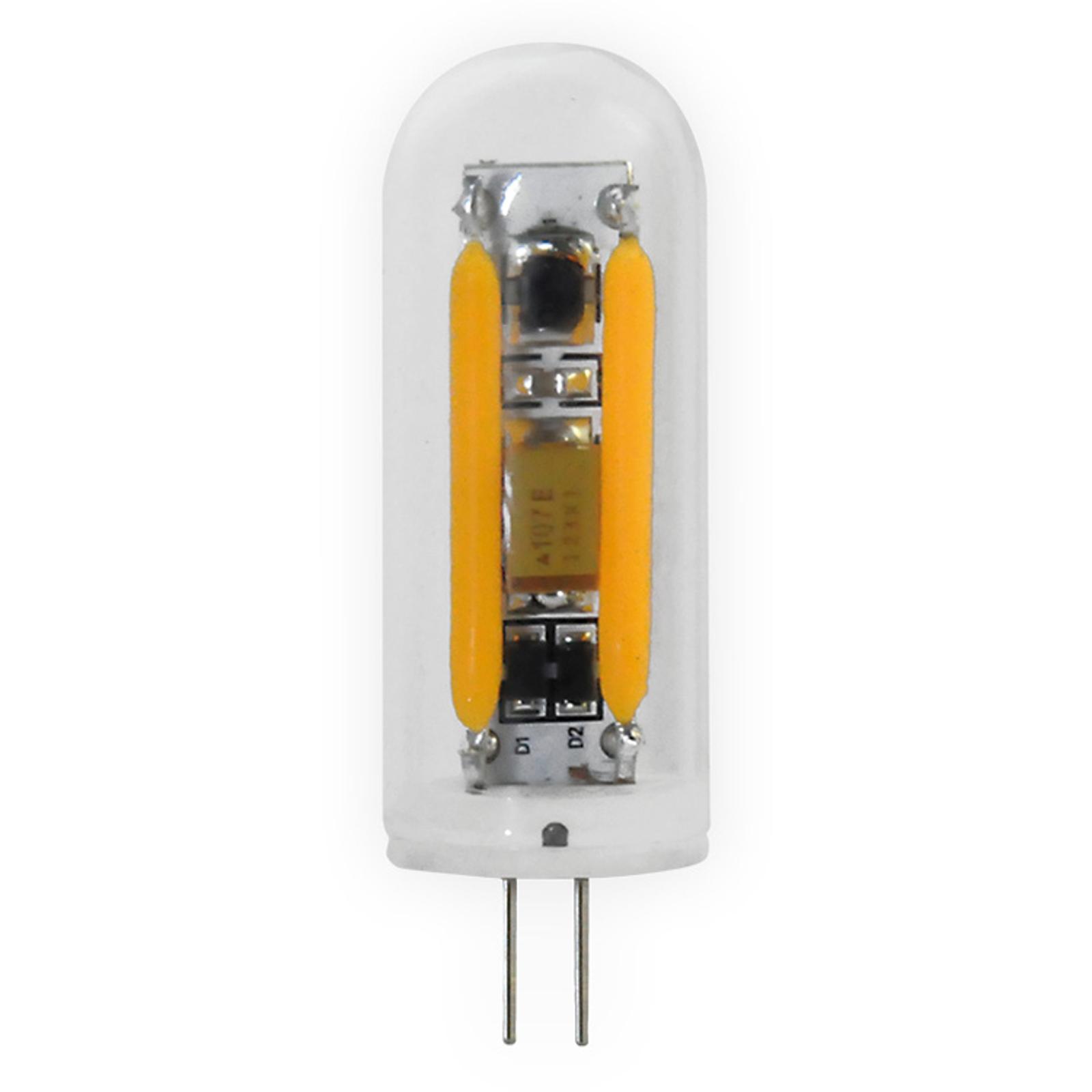 Ampoule à broches LED G4 2W 926, transparente