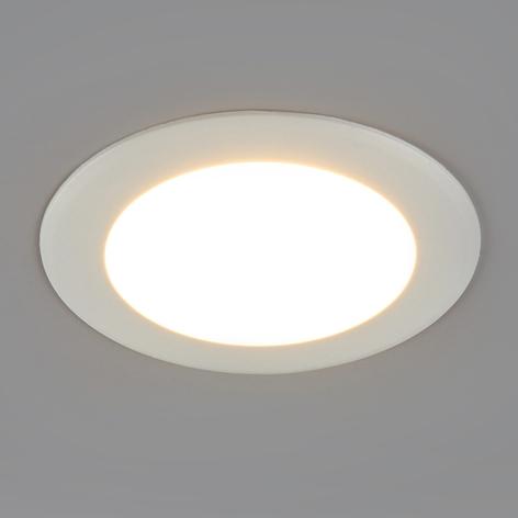 Plafonnier encastrable LED rond Arian, 9,2cm, 6W