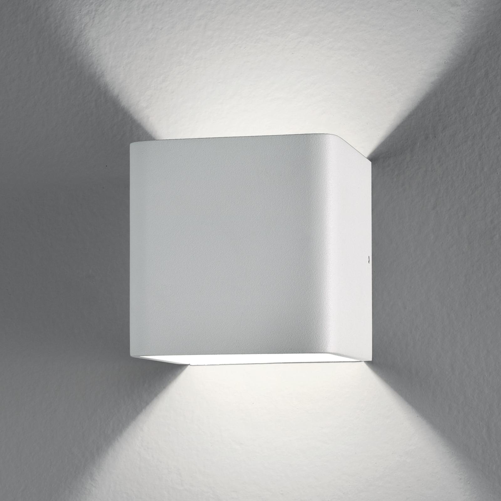 Kubisk LED-vegglampe Gino, 6 W