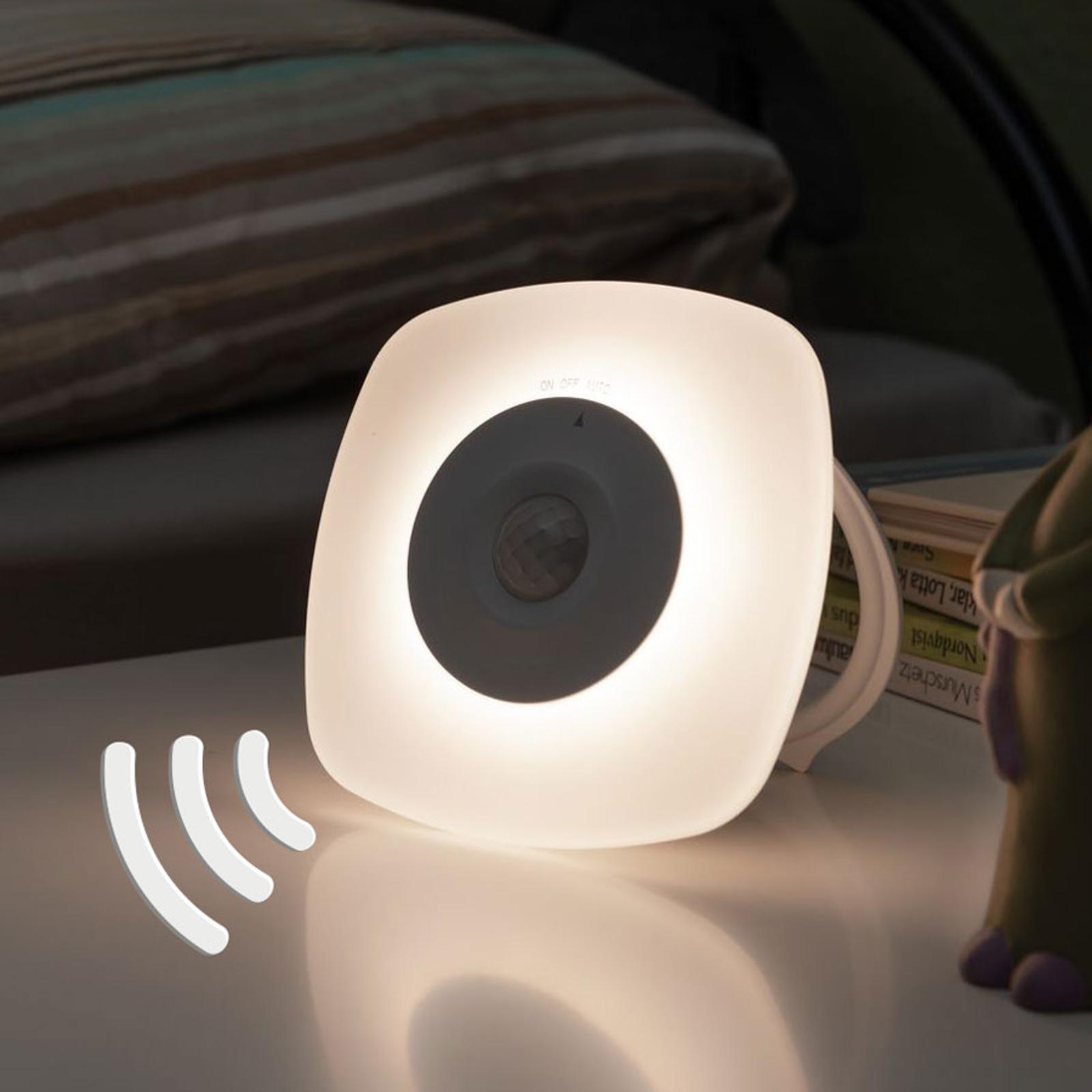 Paulmann Viby lampka nocna LED, mobilna, kątowa