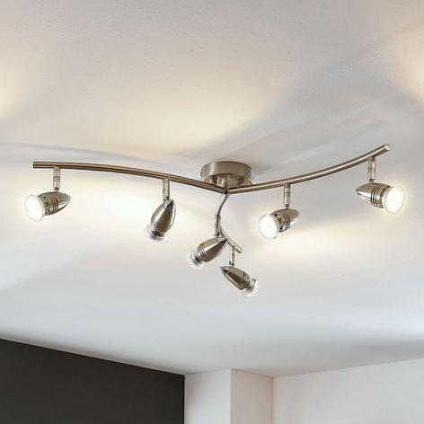 LED plafondspot Benina, 6-lamps
