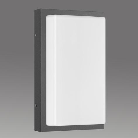 Aplique de exterior Babett E27 sin sensor grafito