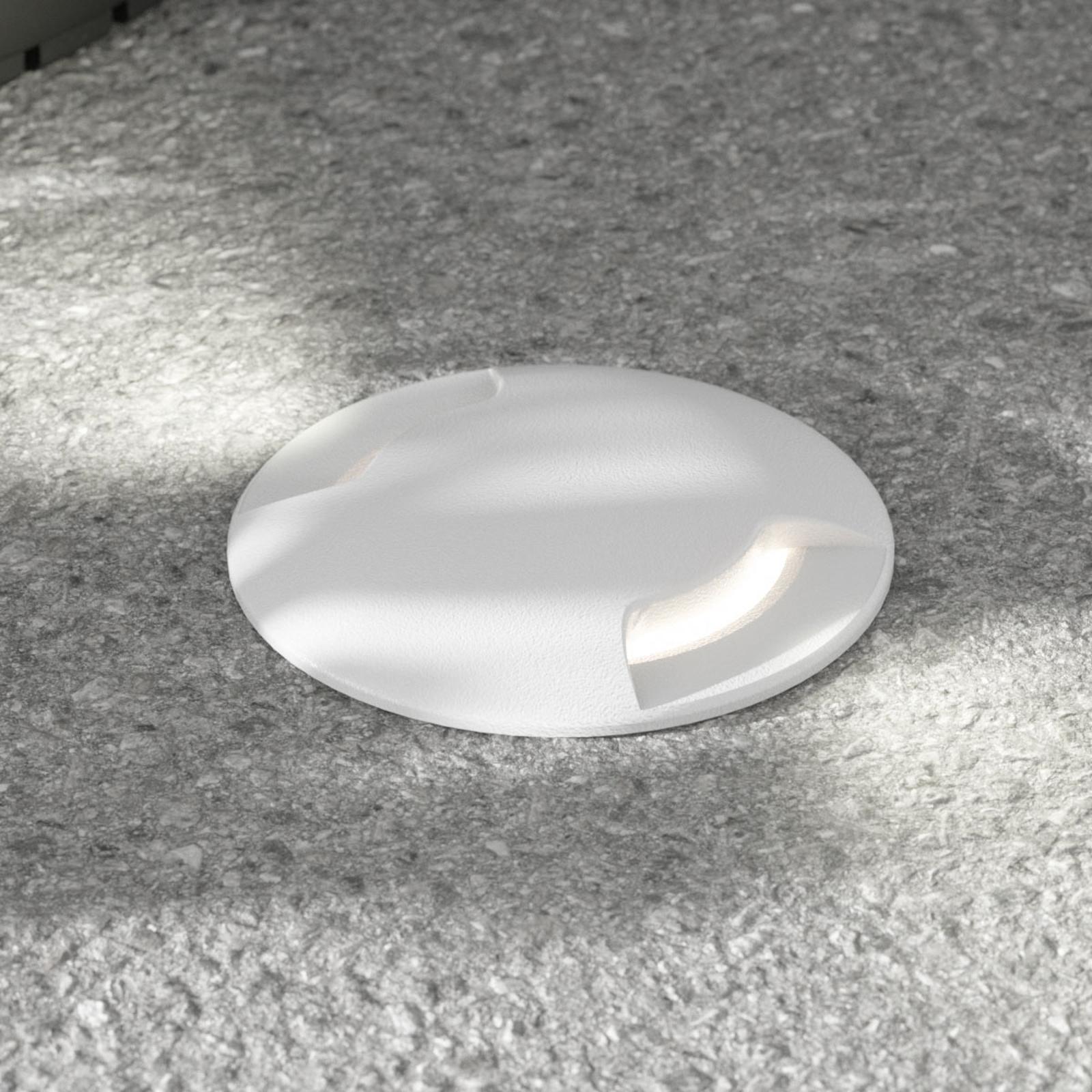 LED-bakkespot Ceci 160-2L grå CCT