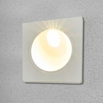 Ścienna lampa wpuszczana IAN na zewnątrz, z LED