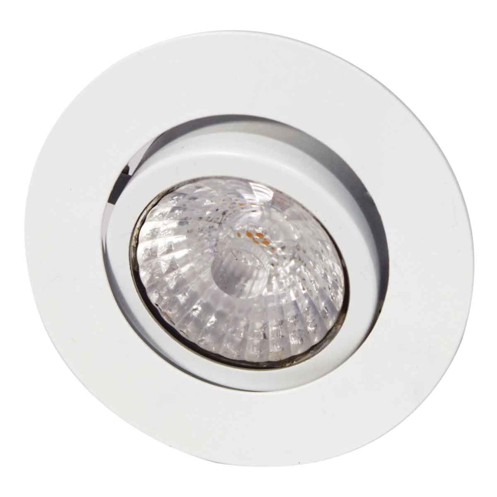 Reflektor wpuszczany LED Rico dim to warm, biały
