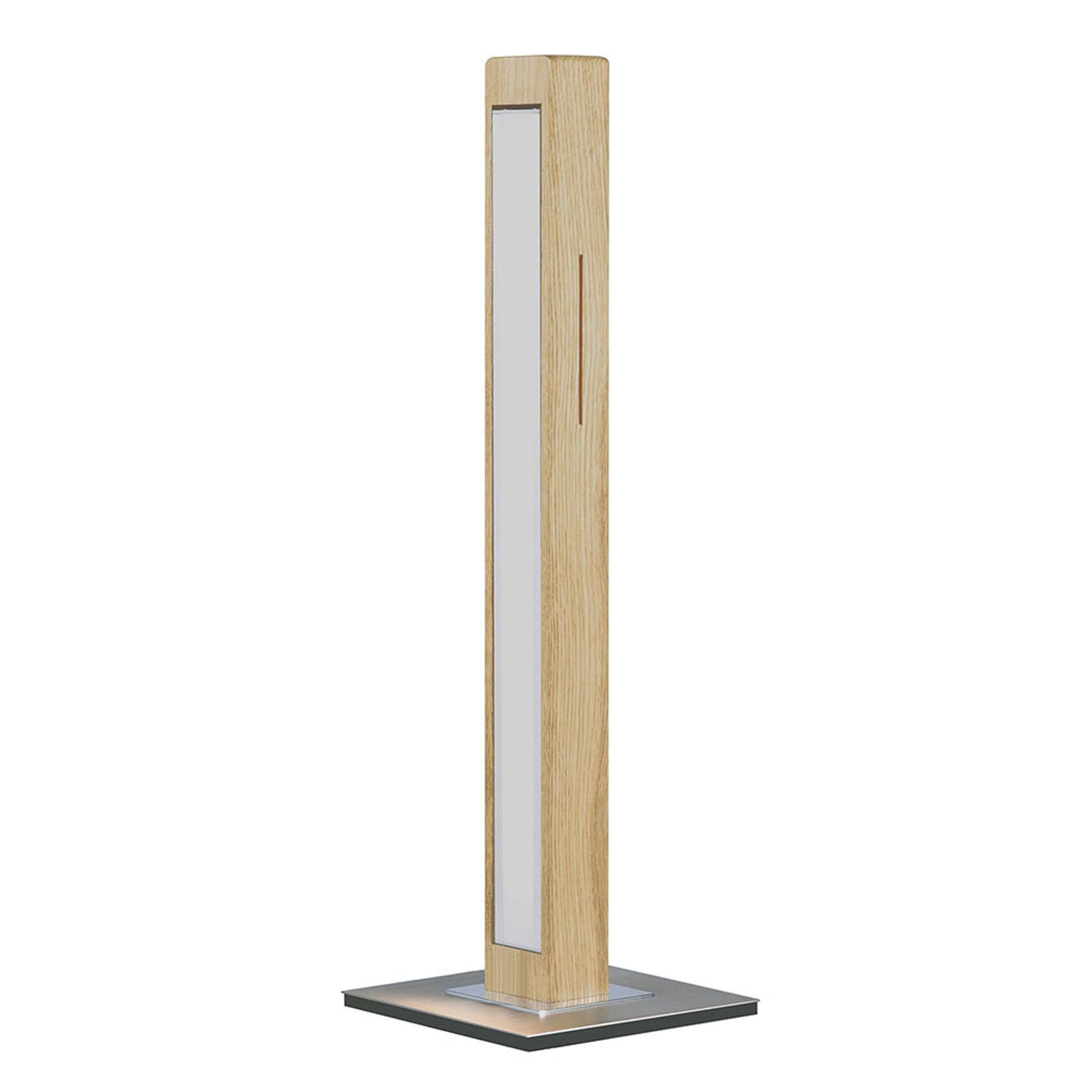 HerzBlut Leonora lampa stołowa LED dąb naturalny