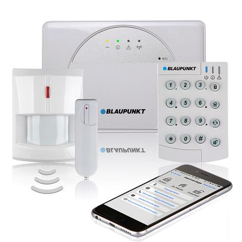 Blaupunkt SA 2650 radio-alarmsysteem complete set