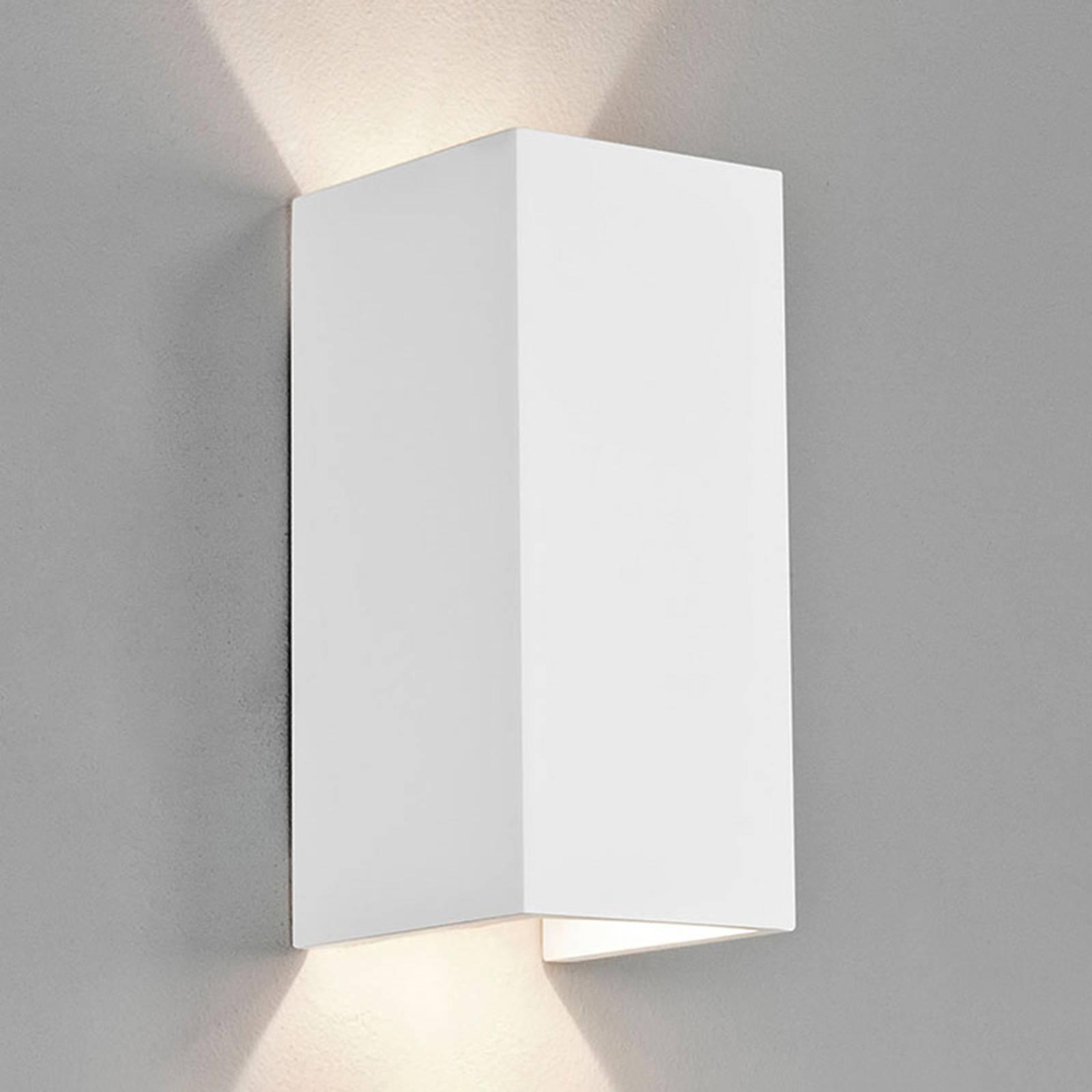 Astro Parma 210 LED Wandleuchte aus Gips, 2.700 K
