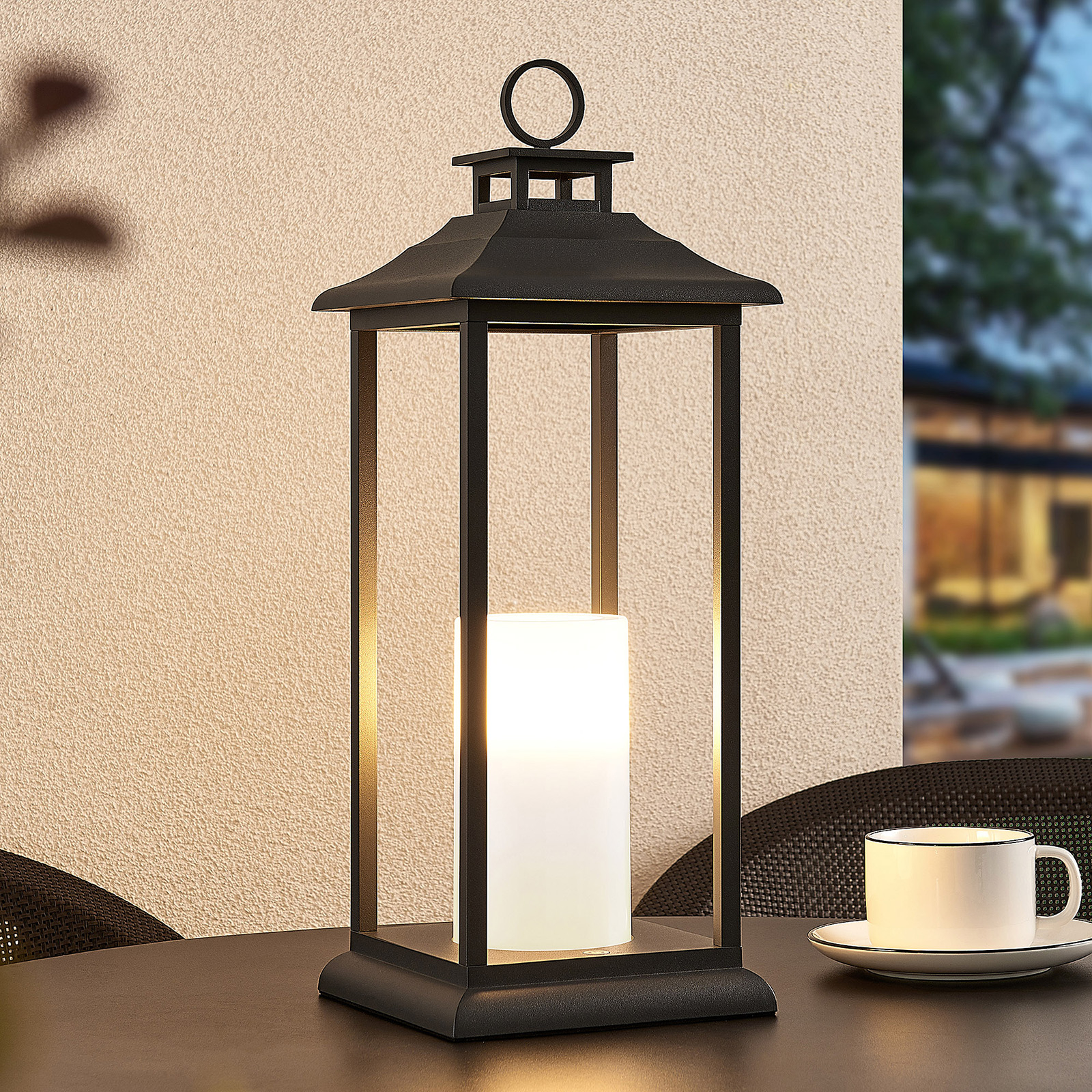 Lucande Vadik LED outdoor lantern_9616177_1