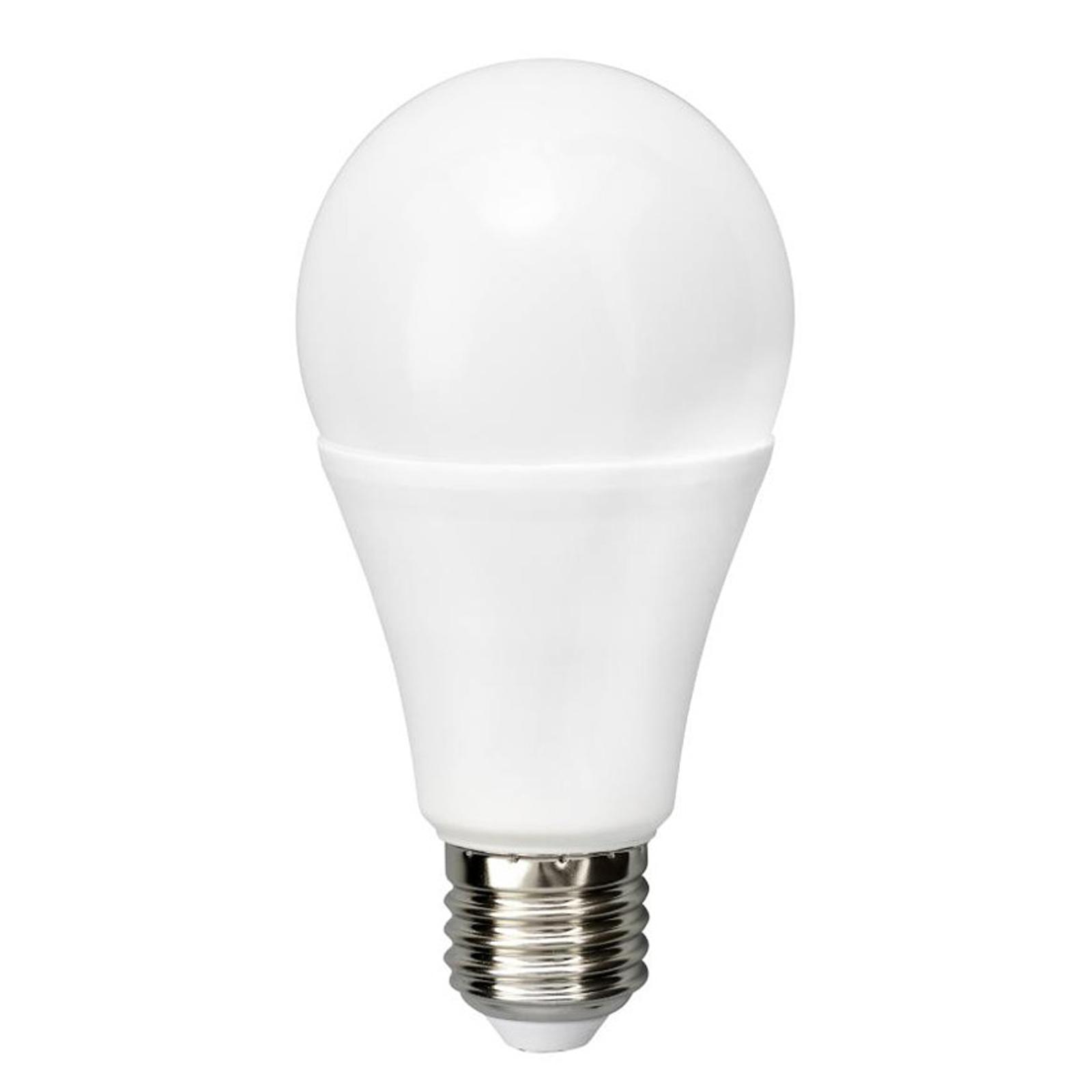 LED-pære E27 A65 12 W 2°700 K matt