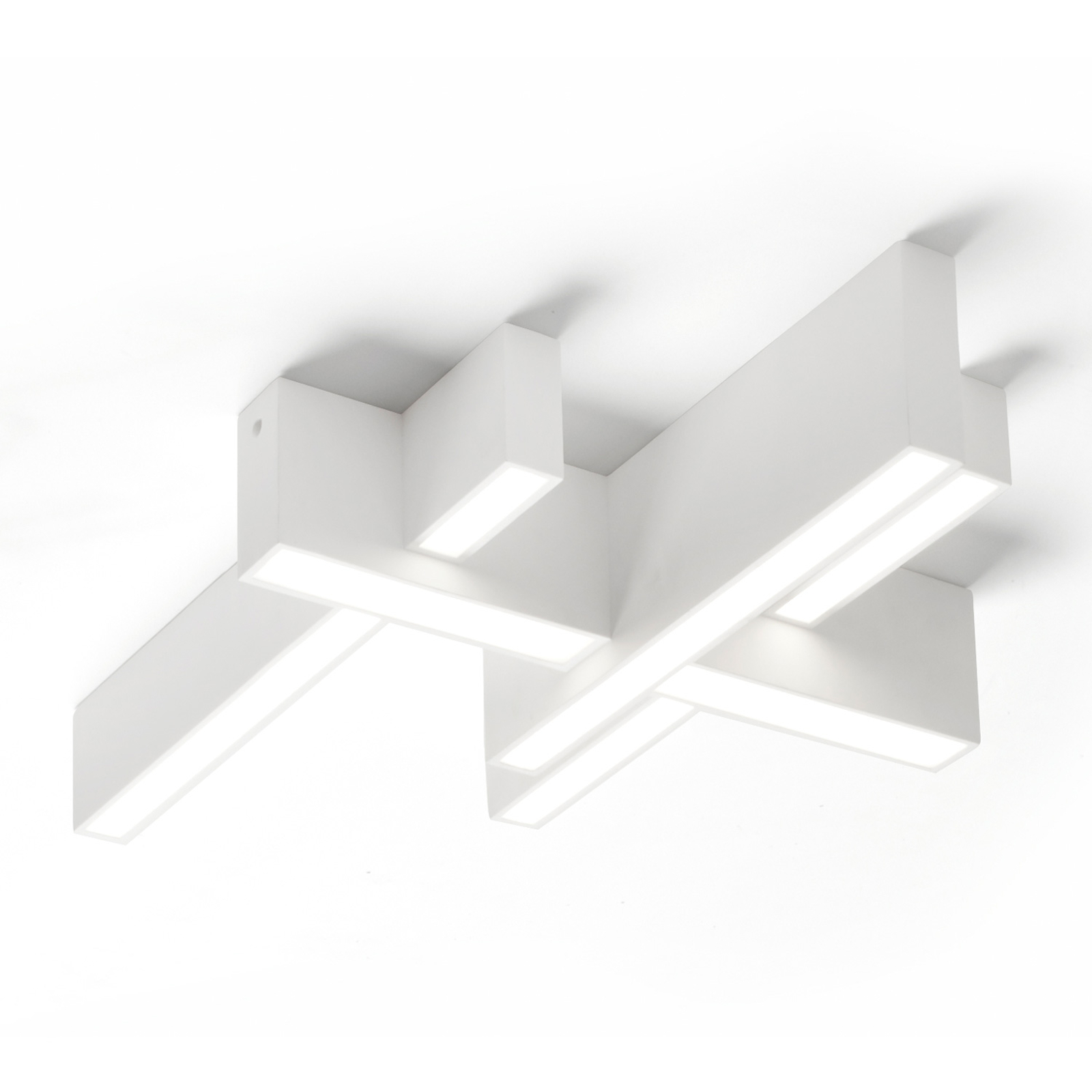 Lampa sufitowa LED Magnesia T277, 4 belki