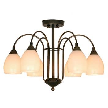 Menzel Anno 1900 venkovské stropní světlo 6 zdrojů