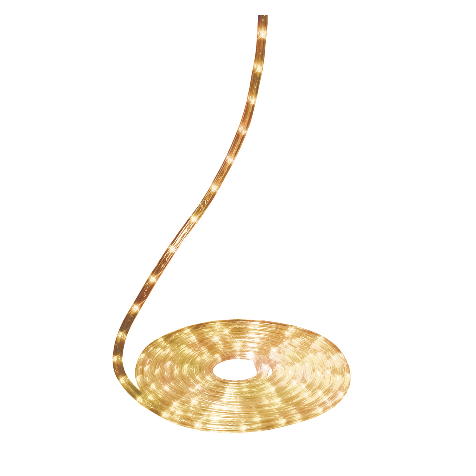 Mały wąż świetlny Rope light, 6 m, przezroczysty