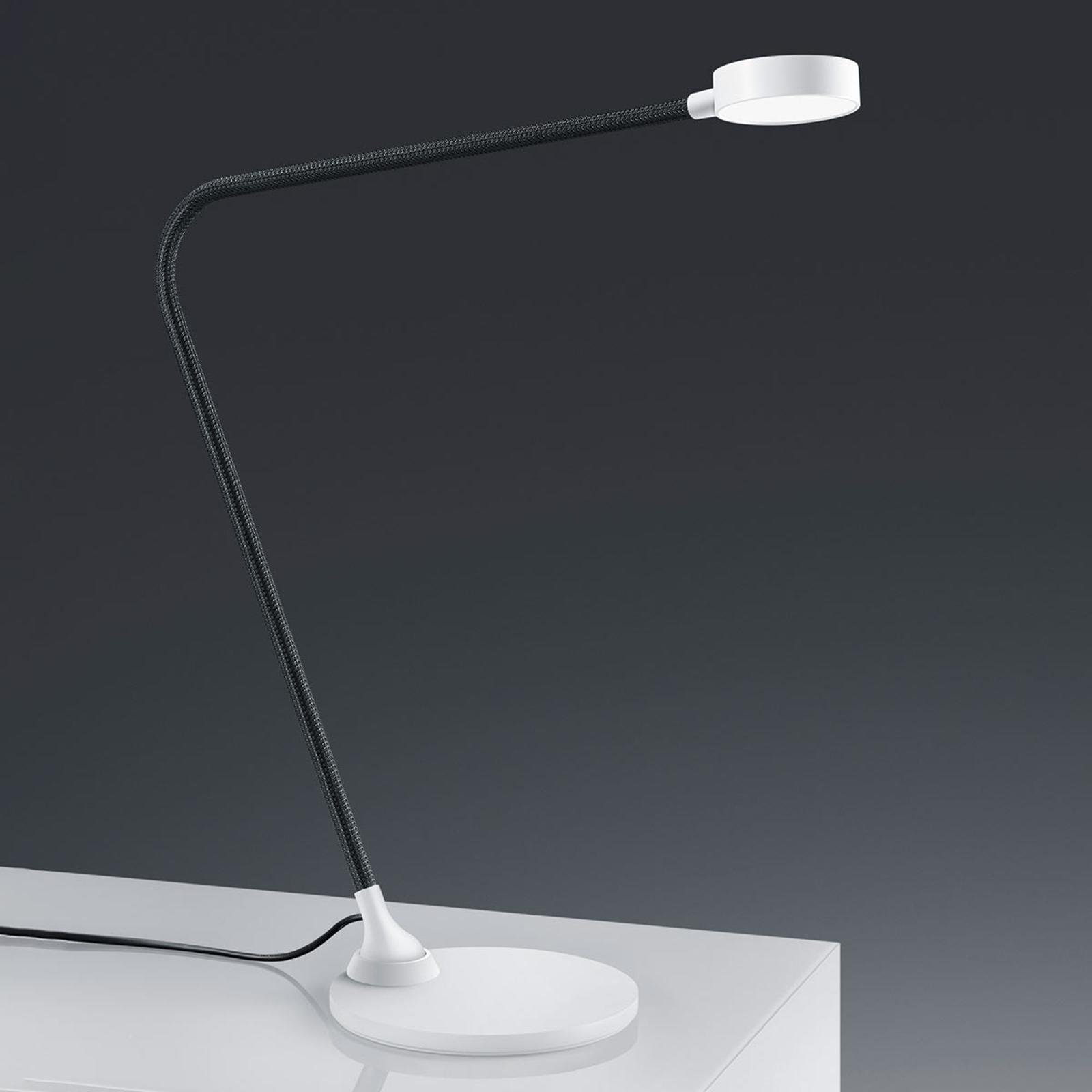 Baulmann 14.107 LED-Tischleuchte, Touchdim, weiß