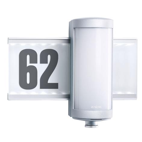 STEINEL L 625 LED-utomhusvägglampa sensor silver