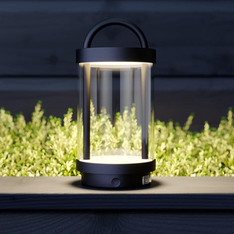 Lucande Caius lámpara decorativa LED para exterior