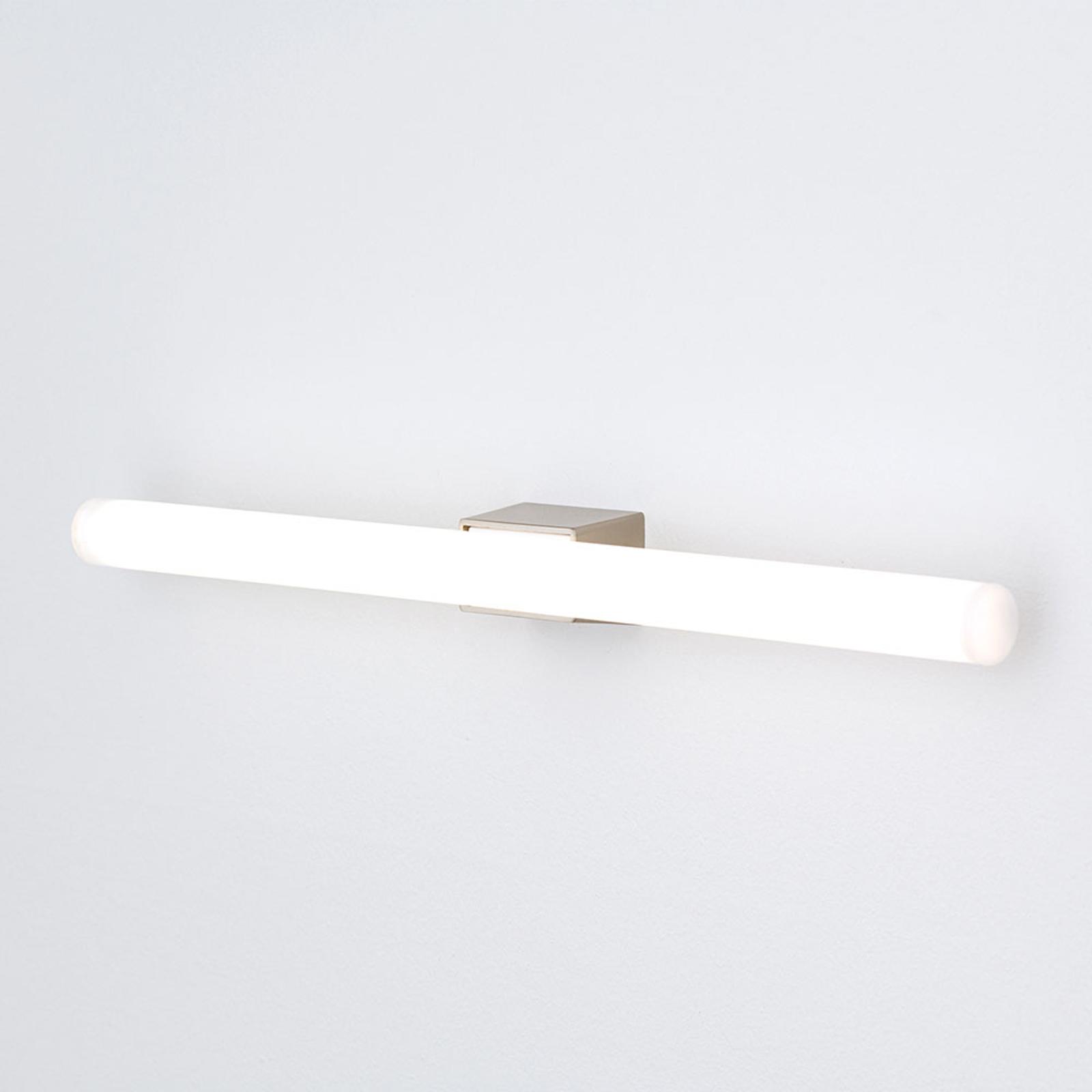 LED-spegellampa Visagist, matt nickel fäste