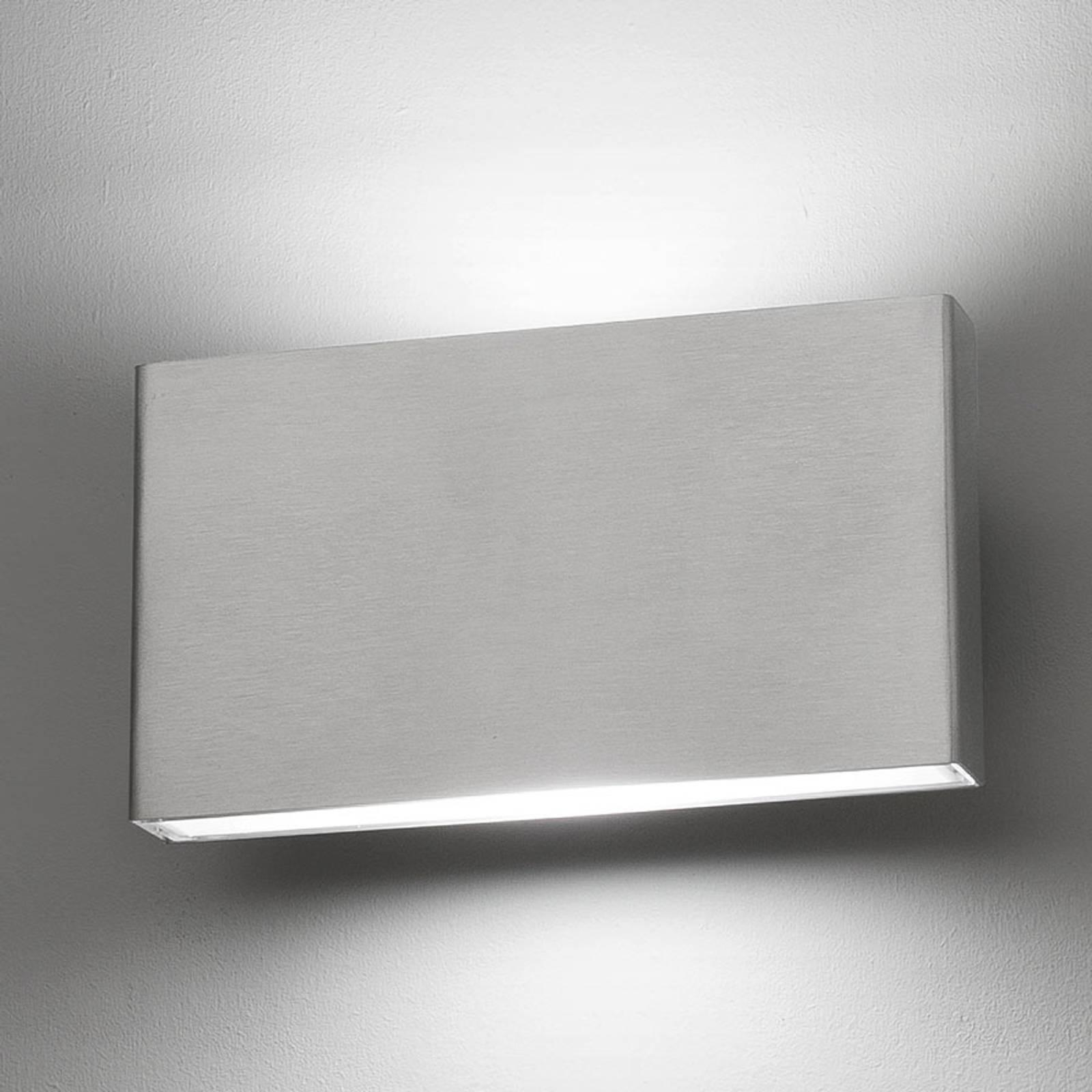 LED stalen wandlamp Kaula, zeewaterbestendig, IP44