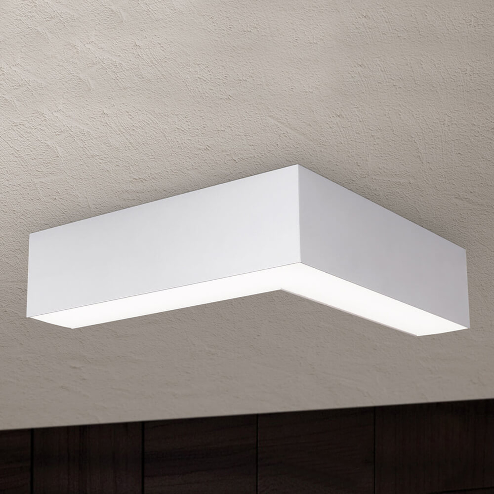 Lampa sufitowa LED Sando, zestaw, 30x30cm