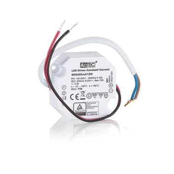 AcTEC Mini LED-Treiber CC 500mA, 12W, IP65