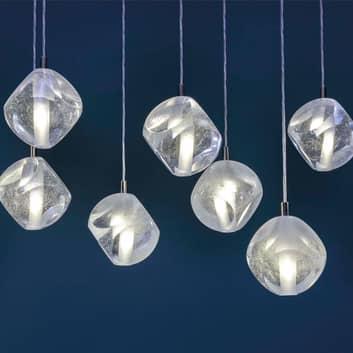 Lampada a sospensione Glace di vetro, 1 luce