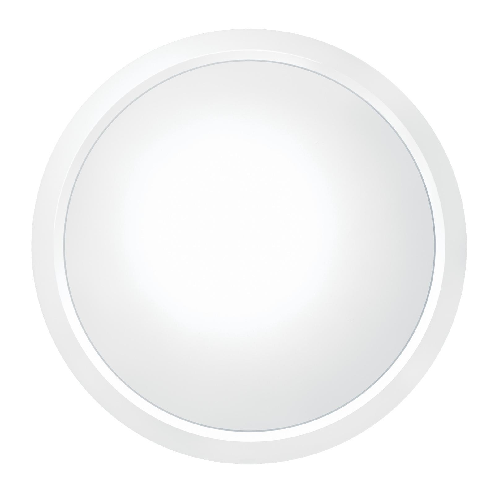 THORNeco Lara LED-Wandleuchte Ø 30cm Dekoring weiß
