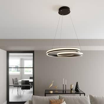 Lucande Gwydion lampada LED a sospensione, 60 cm