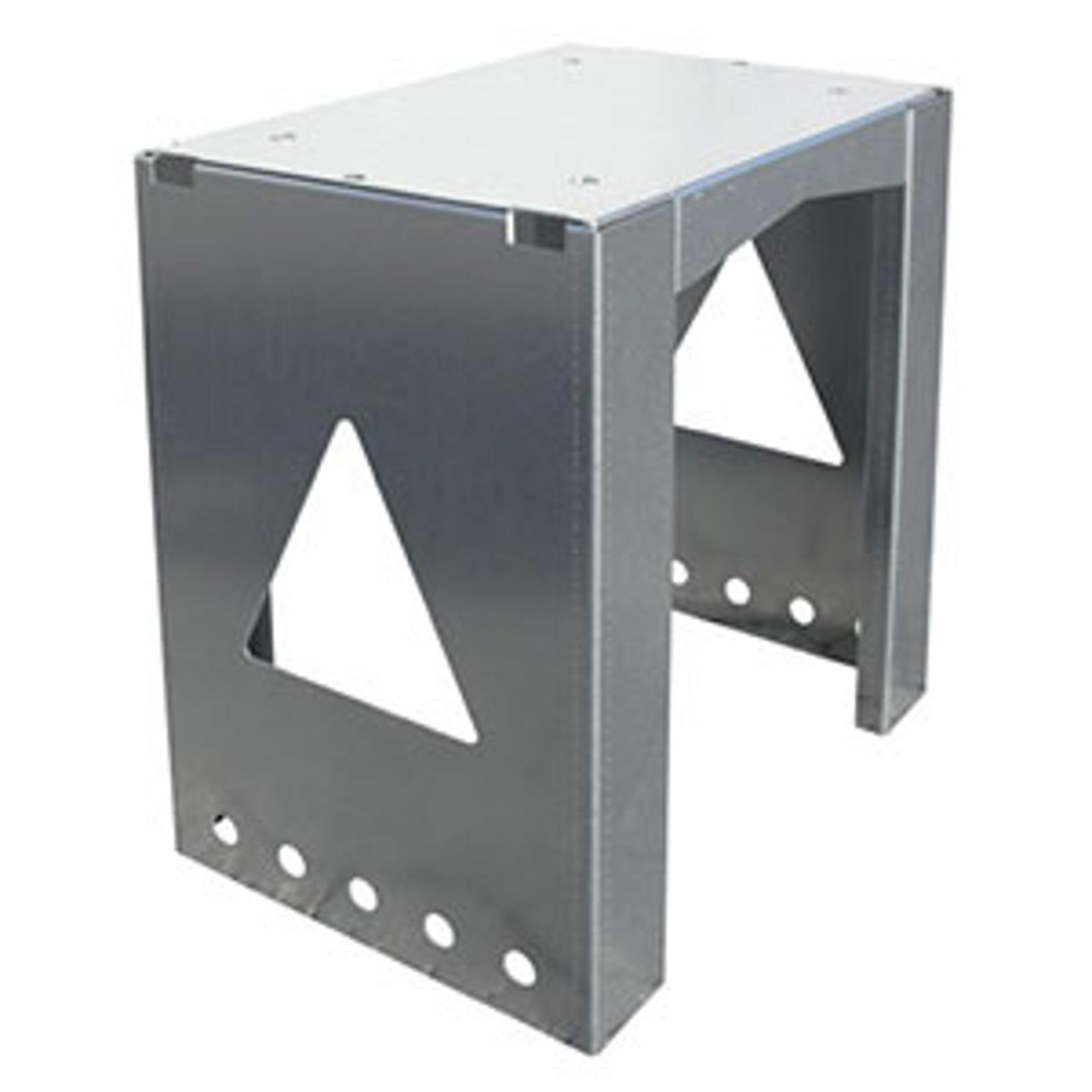 Univerzálně použitelný stojan 8002 schránky ocel