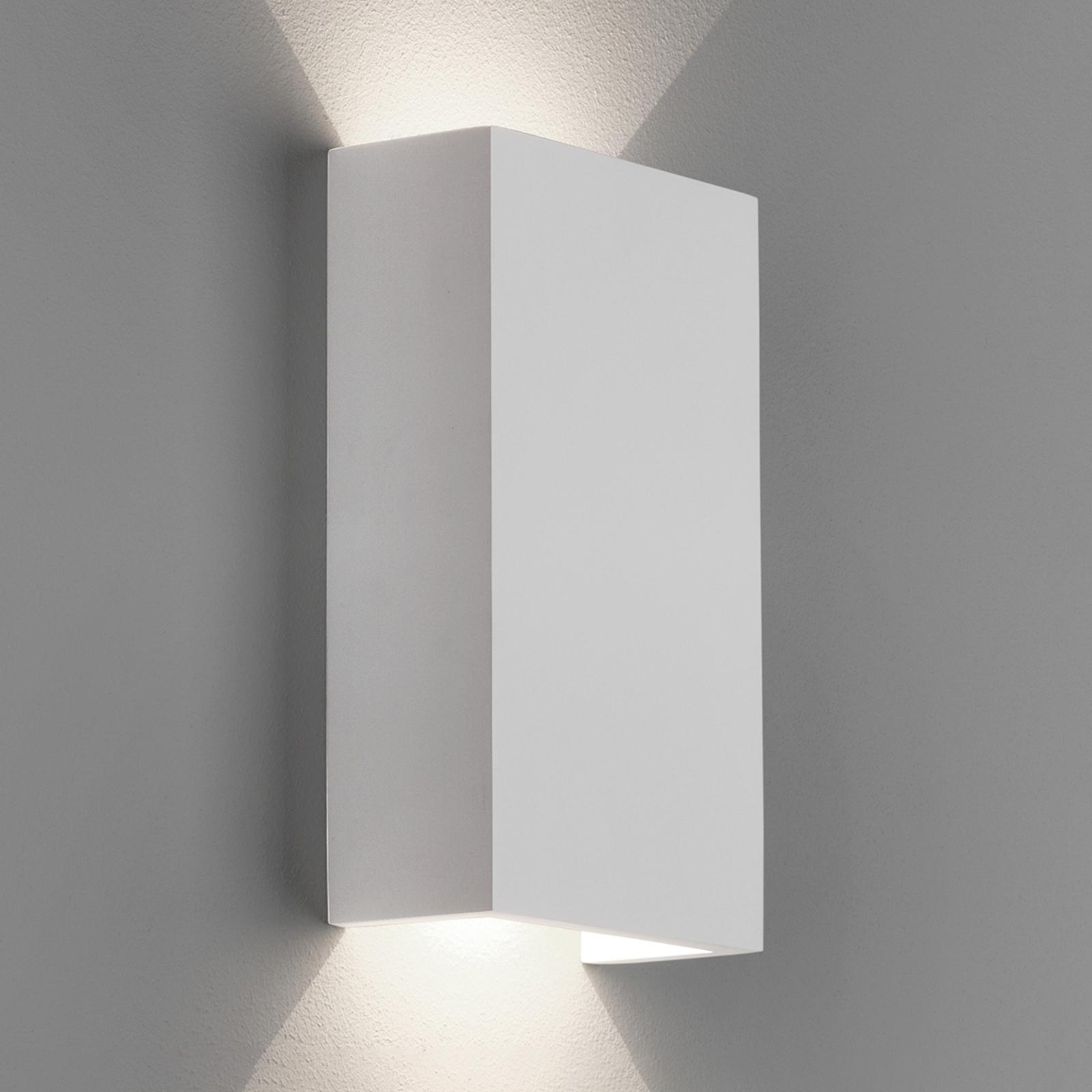 Astro Rio 125 lampa ścienna LED z gipsu, 2700K