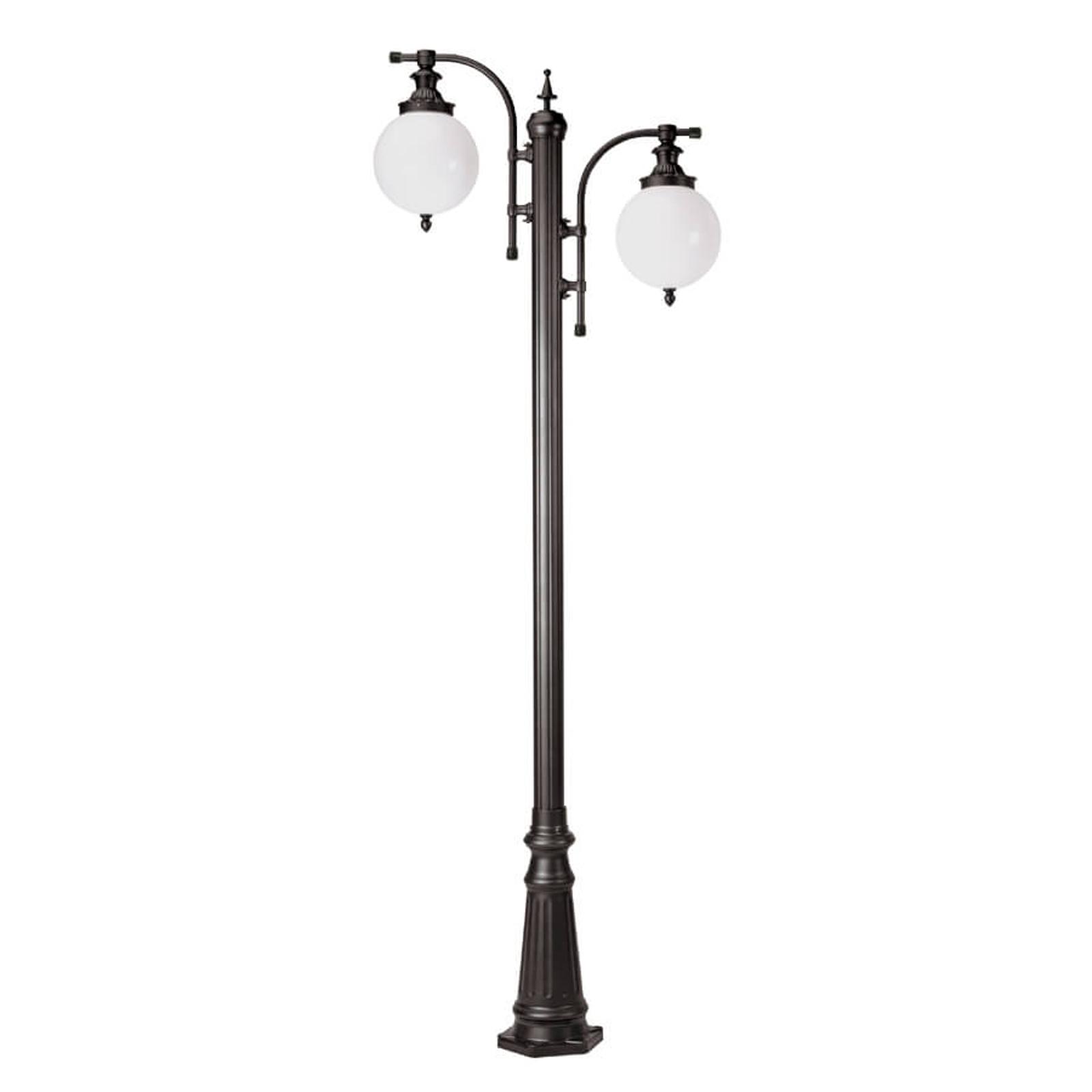 Atrakcyjna latarnia Madeira 2-pkt., antracyt