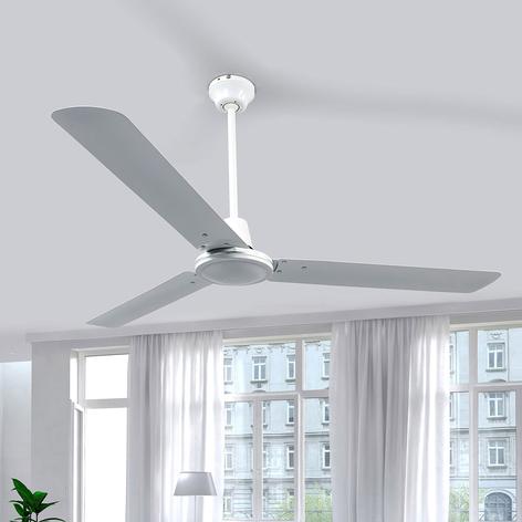 Hvid loftventilator Dawinja med tre vinger