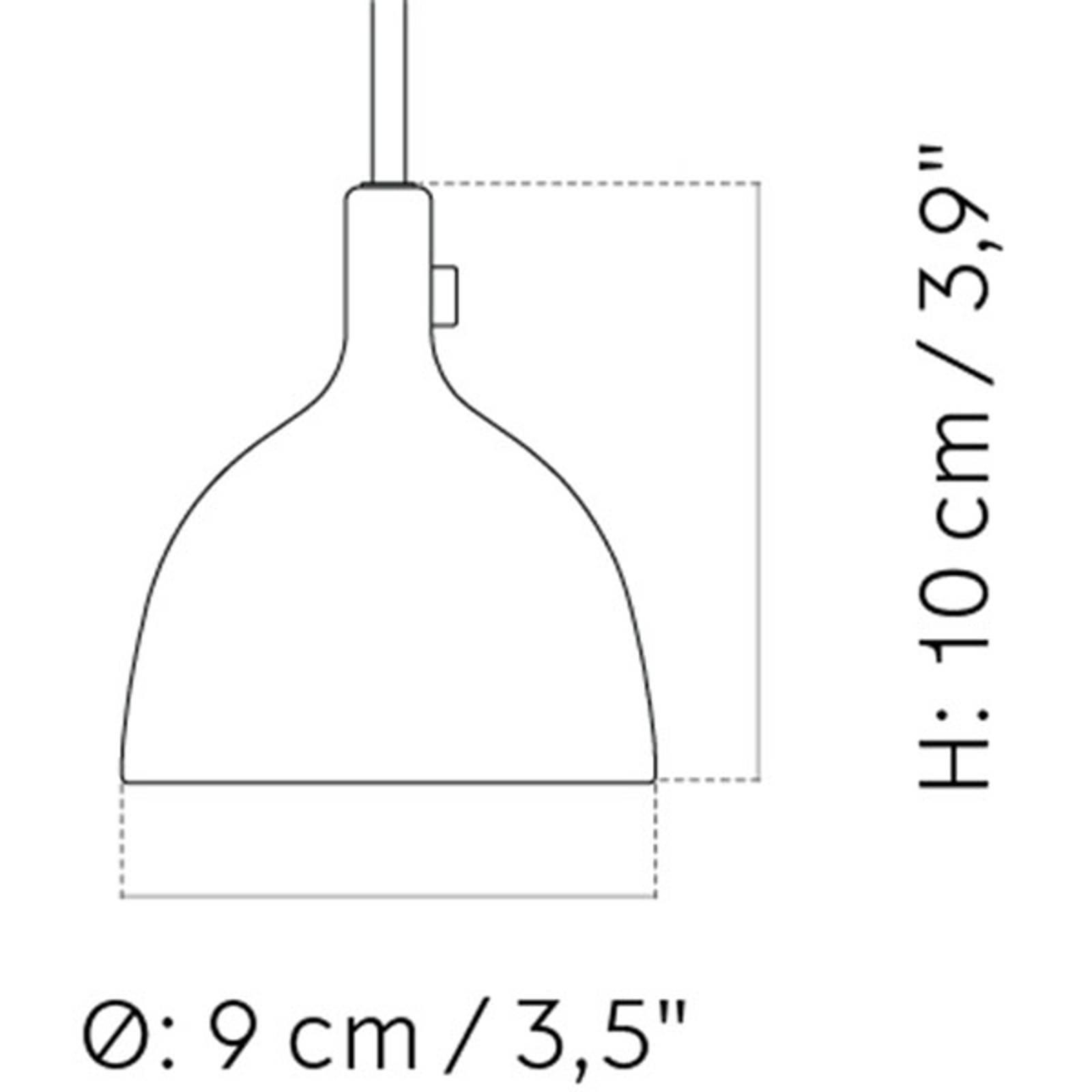 Billede af Menu Cast LED-hængelampe i sort, Shape 2