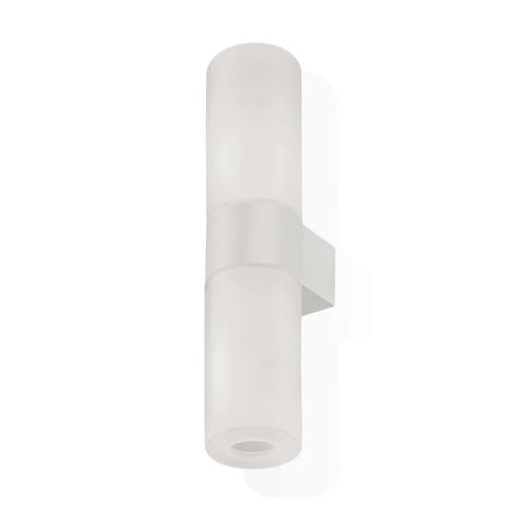 Kundalini Pastilla LED-Wandleuchte, weiß