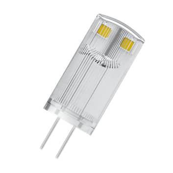 OSRAM LED-stiftsokkelpære G4 0,9W 2.700K klar