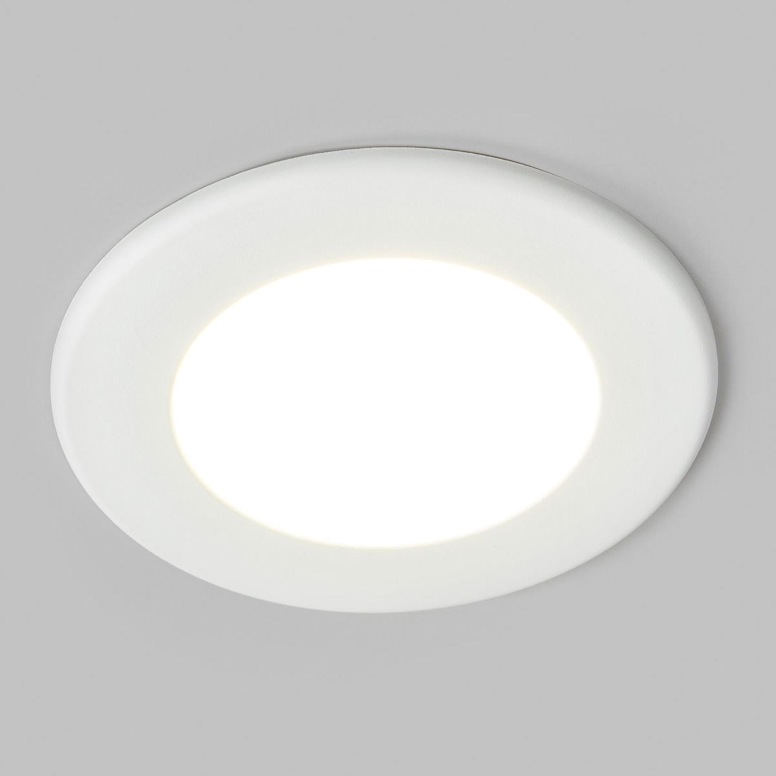 LED-indbygningsspot Joki hvid 4000K rund 11,5cm