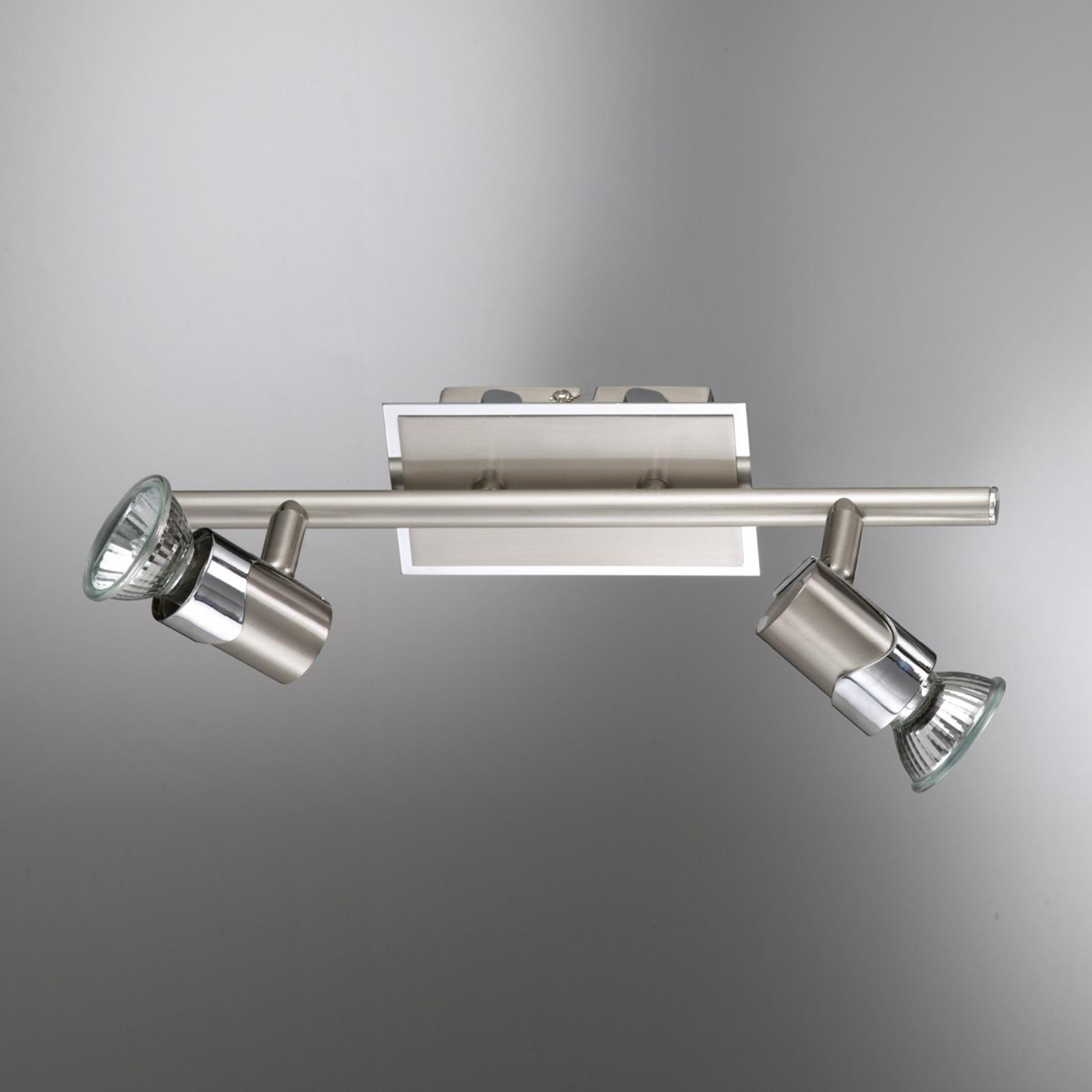 Plafondlampa ALICE, två ljuskällor