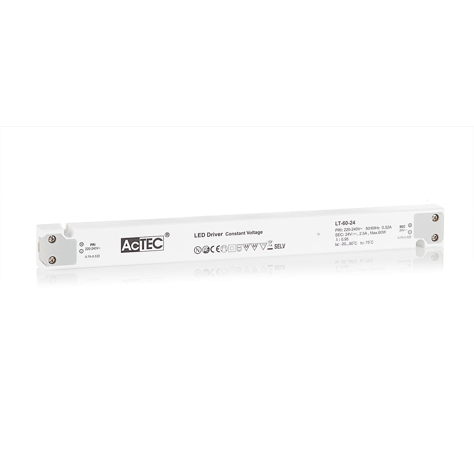 AcTEC LT LED-driver CV 24 V, 60 W