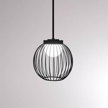LOUM Boho lampada LED sospensione IP65 con gabbia