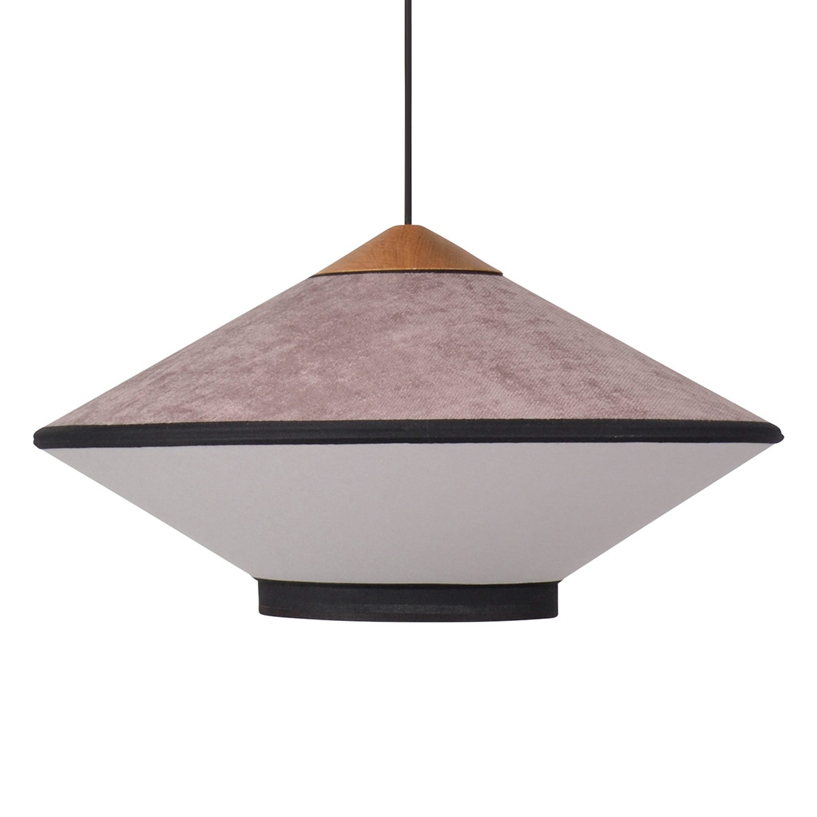 Forestier Cymbal S hanglamp 50cm pink