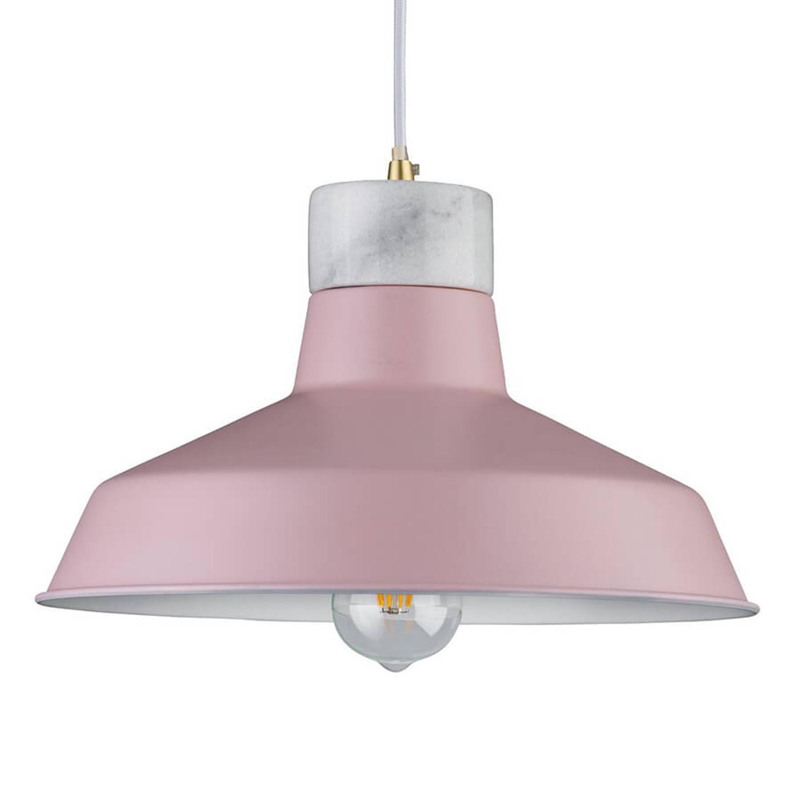 Paulmann Disa závěsné světlo v jemné růžové