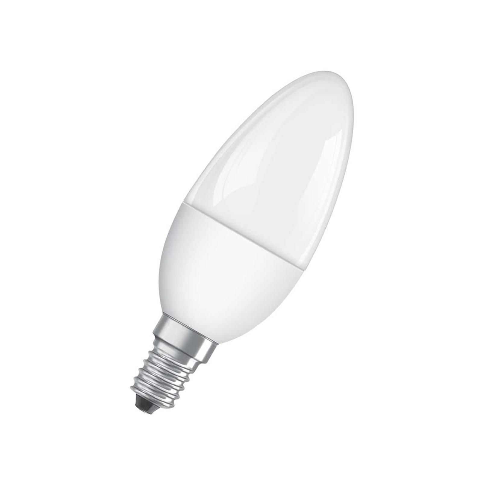 OSRAM LED-Kerzenlampe E14 5W 827 Superstar, matt