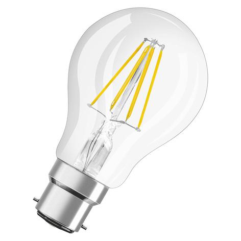 LED-pære B22d 7 W, varmhvit, 806 lumen