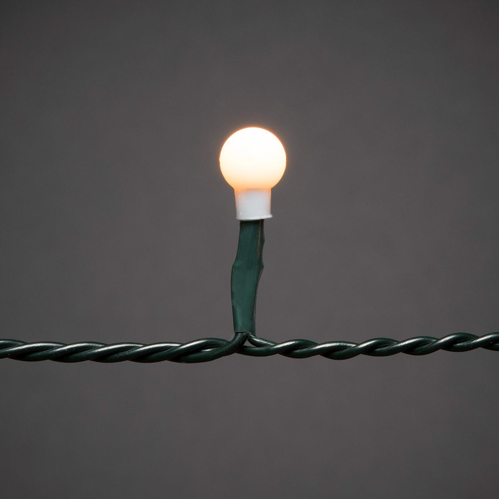 LED-valohuppu esiasen.karttapalloilla, 200-lampp.