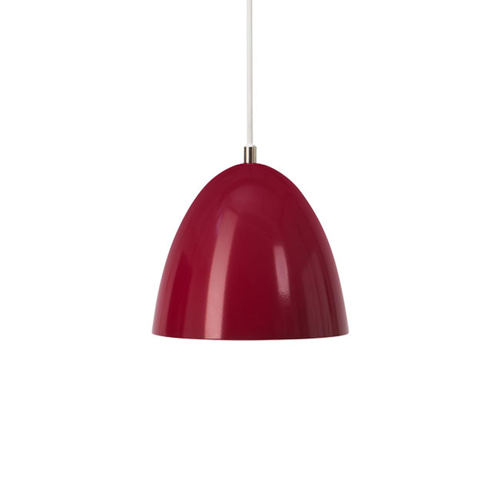 LED hanglamp Eas, Ø 24 cm, 3.000 K, rood
