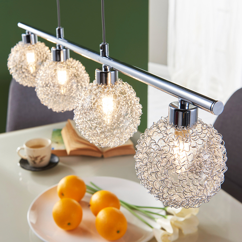 Závěsné LED světlo Ticino, 4bodové