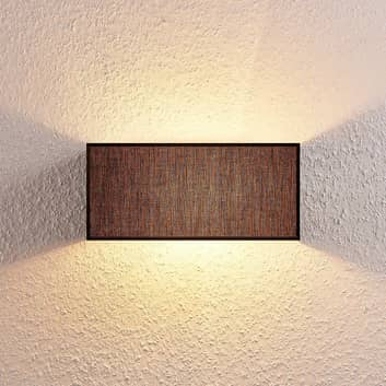 Lampa ścienna Adea, 30 cm, kątowa, czarna
