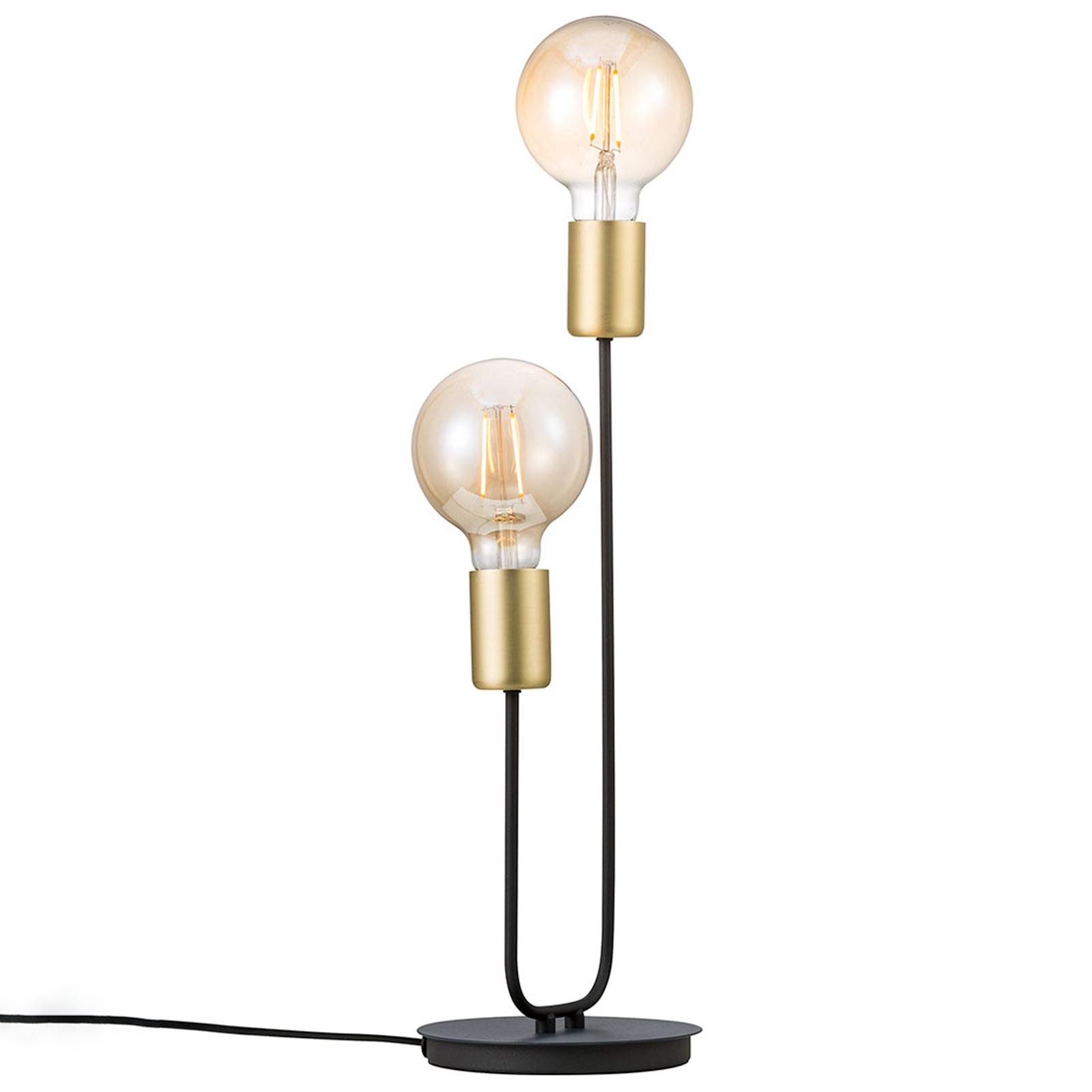 Tafellamp Josefine met twee fittingen