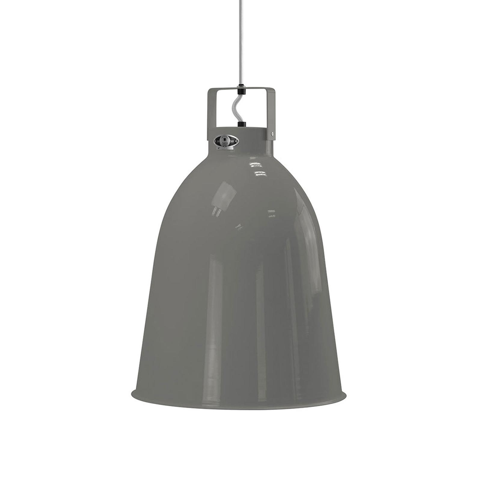 Jieldé Clément C360 hanglamp grijs glans Ø 36cm