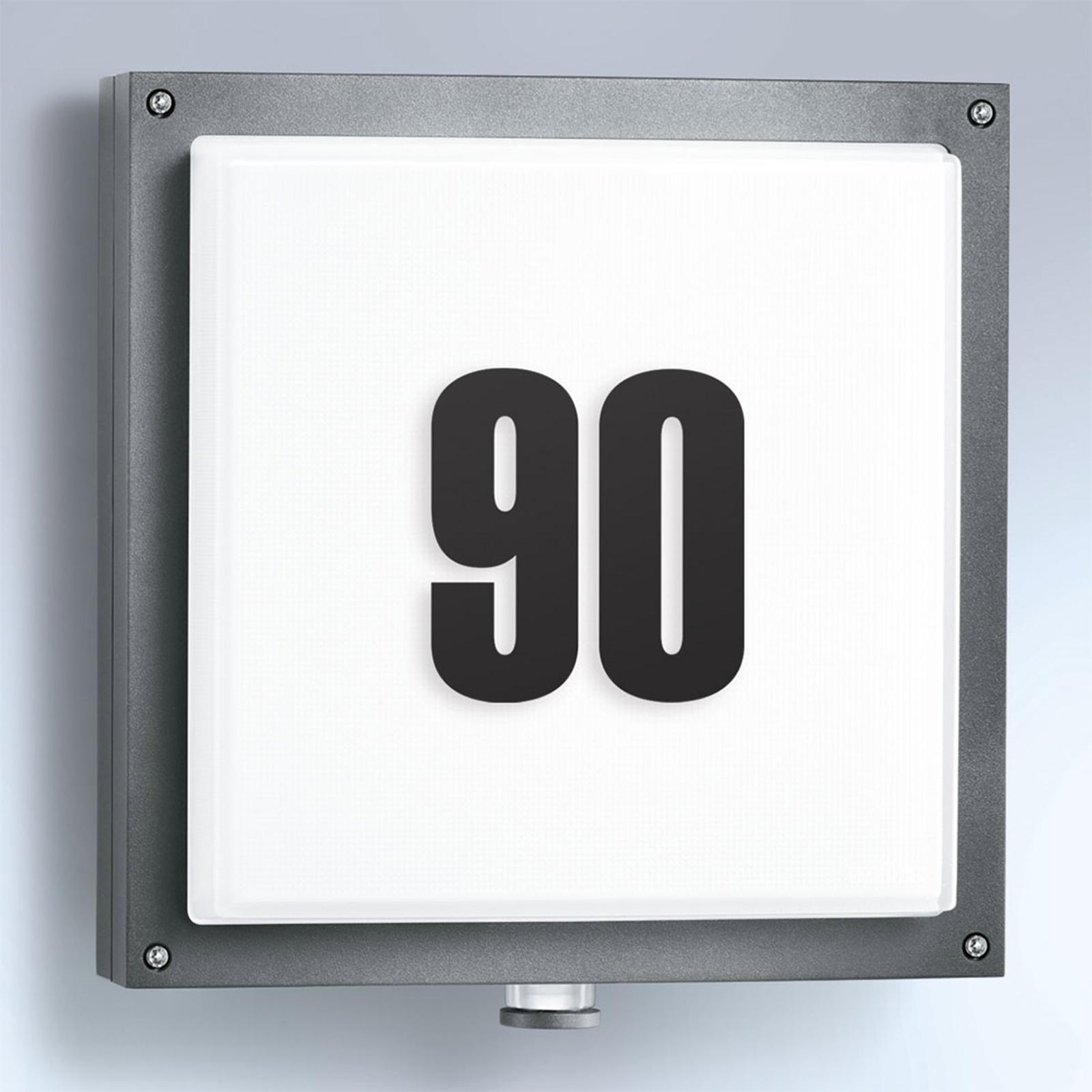 STEINEL L 690 V2 LED-Außenwandlampe Sensor Haus-Nr